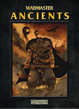 Warmaster Ancients rules cover